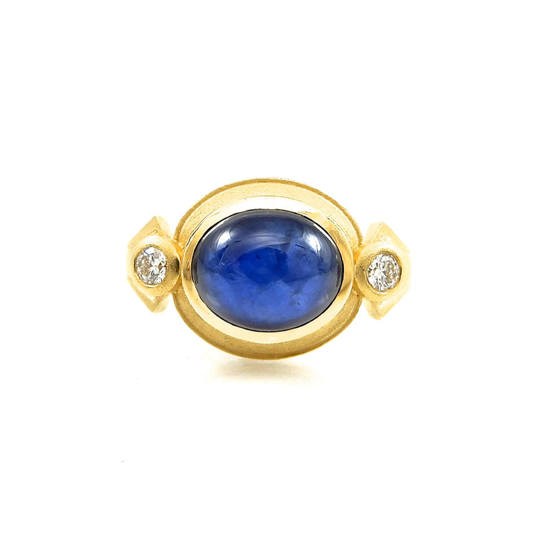 Cleopatra Sapphire Ring