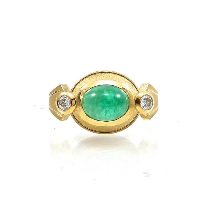 Cleopatra Emerald Ring