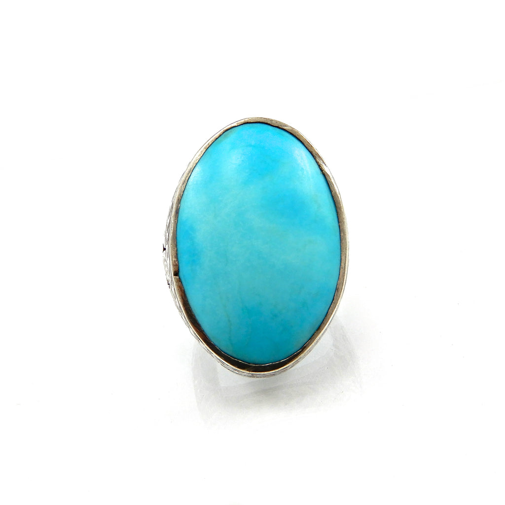 Gents Turquoise Ring