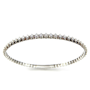 Flexible Diamond Tennis Bracelet