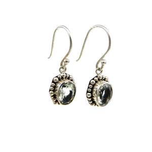 Indiri Bali Gemstone dangle earrings