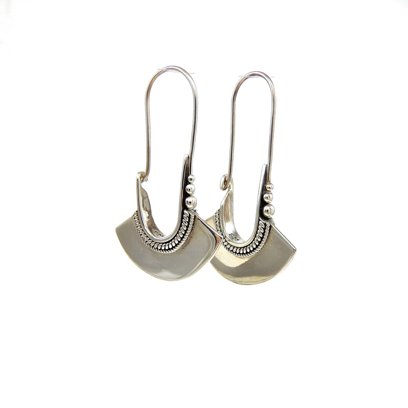 Bali Fan Earrings