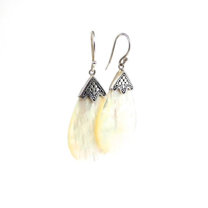 Bali Mother of Pearl Earrings
