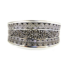 Load image into Gallery viewer, Bali Ornate Cuff Bracelet