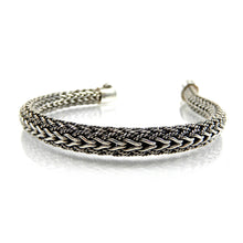 Load image into Gallery viewer, Bali Textured Chain Bracelet