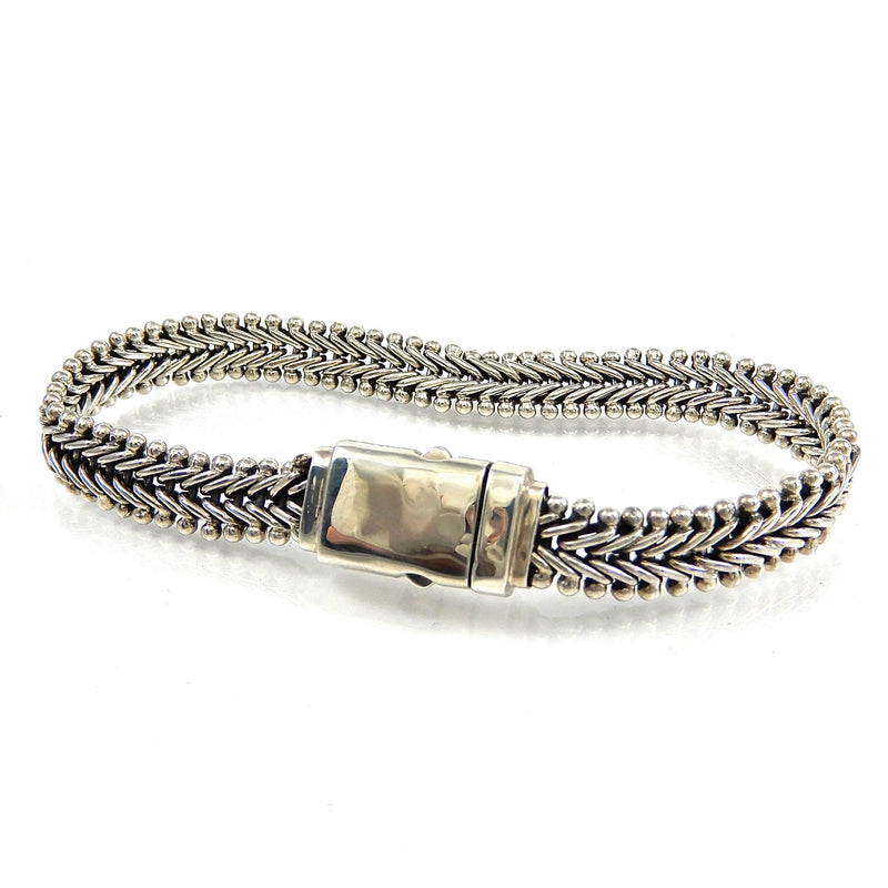 Bali Flexible Herringbone Bracelet