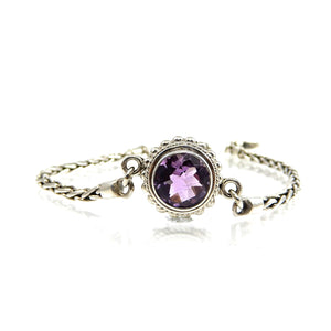 Bali Center Station Gemstone Bracelet