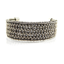 Load image into Gallery viewer, Bali Wide Woven Bracelet