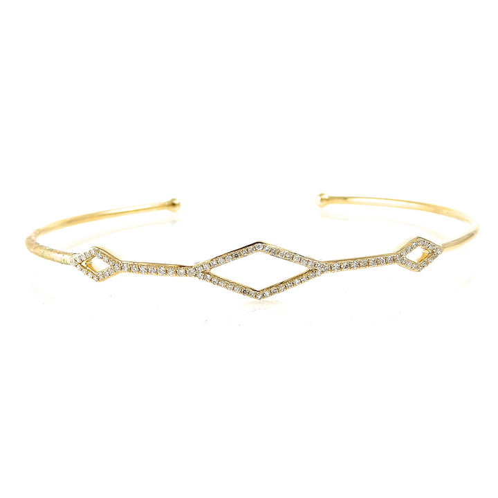 Diamond Shaped Light Bangle