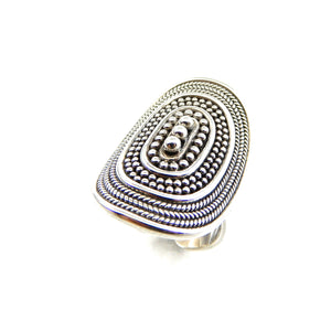 Bali Cigar Band Ring