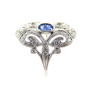 Sapphire Antique style