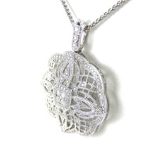 Load image into Gallery viewer, Diamond Filigree Pendant