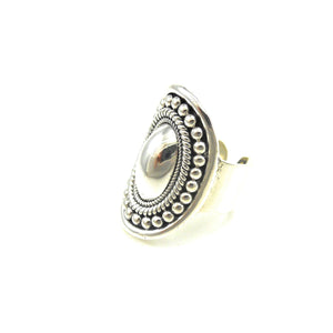 Bali Ring With Dome Center