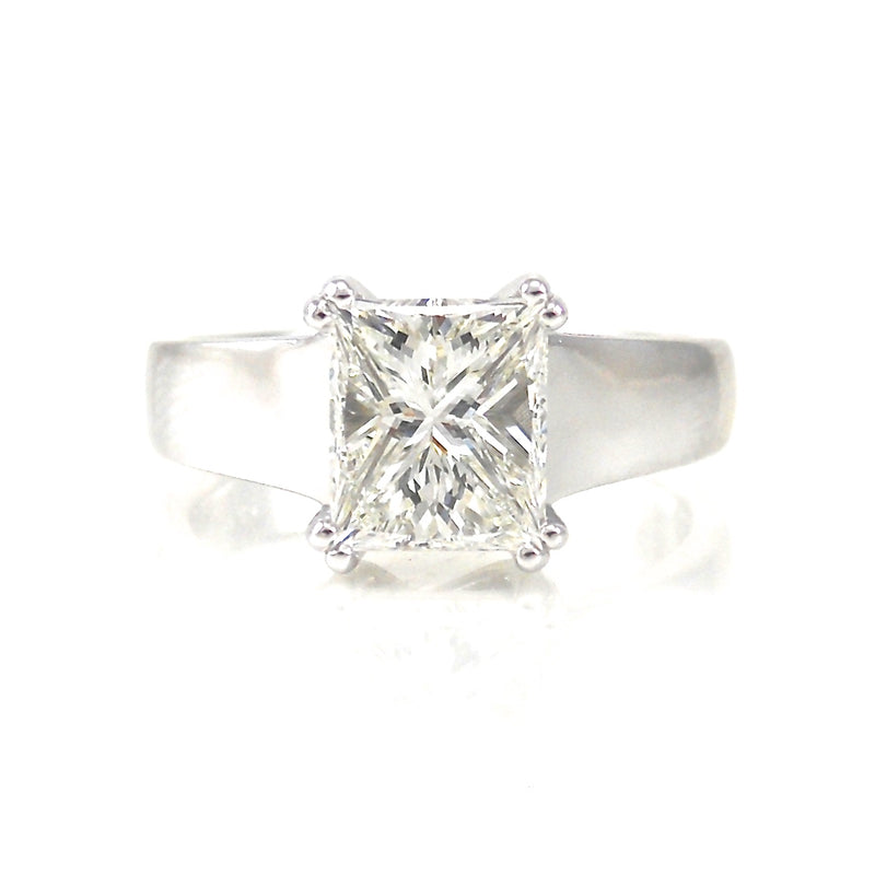 Princess Cut Solitaire Dream Ring