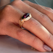 Load image into Gallery viewer, Cleopatra Rhodolite Ring