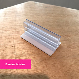 Budget Barriers - Protective Dividers