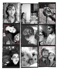 Contact Sheet Art - Layout