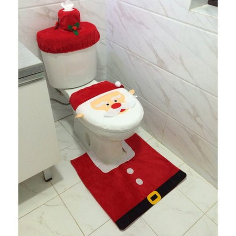 Christmas Toilet Seat Decorations - ShopLess