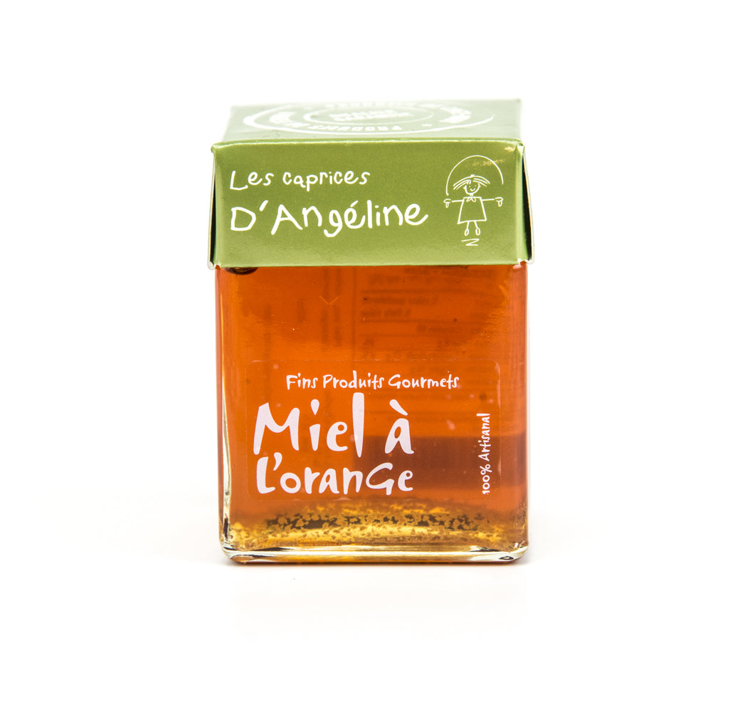Miel à l'orange Les Caprices d'Angéline 212 ml