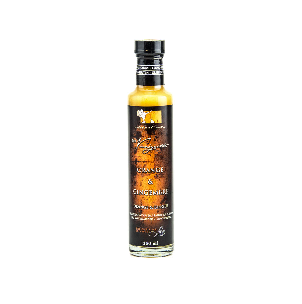 Vinaigrette orange et gingembre 250 ml