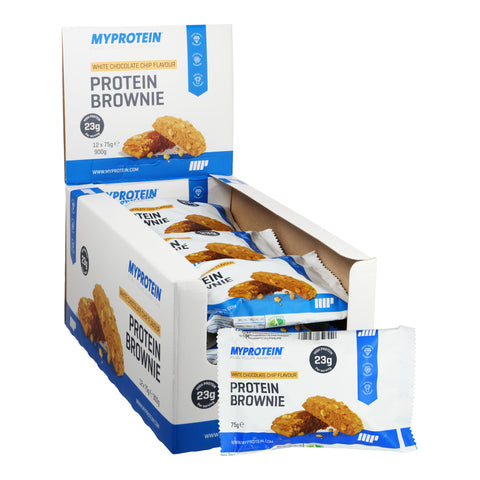 MyProtein Protein Brownie, White Chocolate Chip