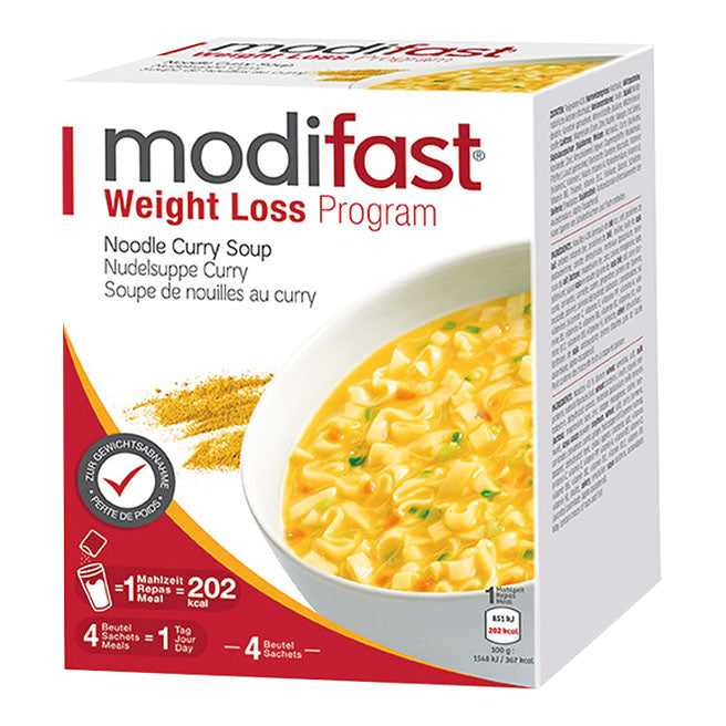 modifast Programm Nudelsuppe Curry