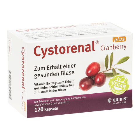 Quiris Cystorenal Cranberry plus