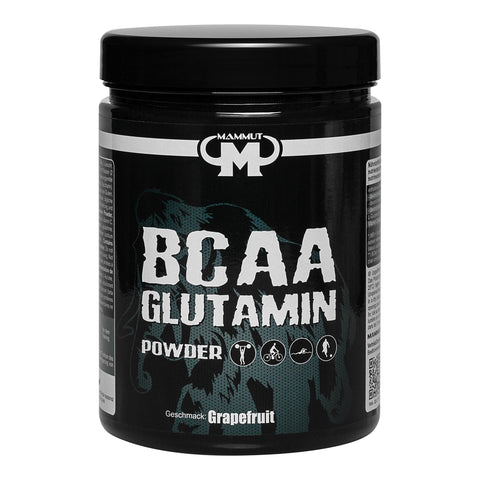 Mammut BCAA Glutamin Powder, Grapefruit