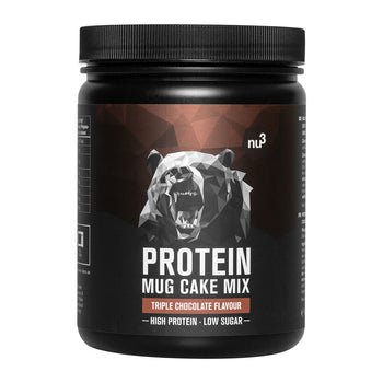 nu3 Protein Mug Cake Mix, Triple Chocolate
