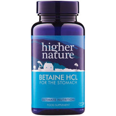 Higher Nature Betaine HCL 90's