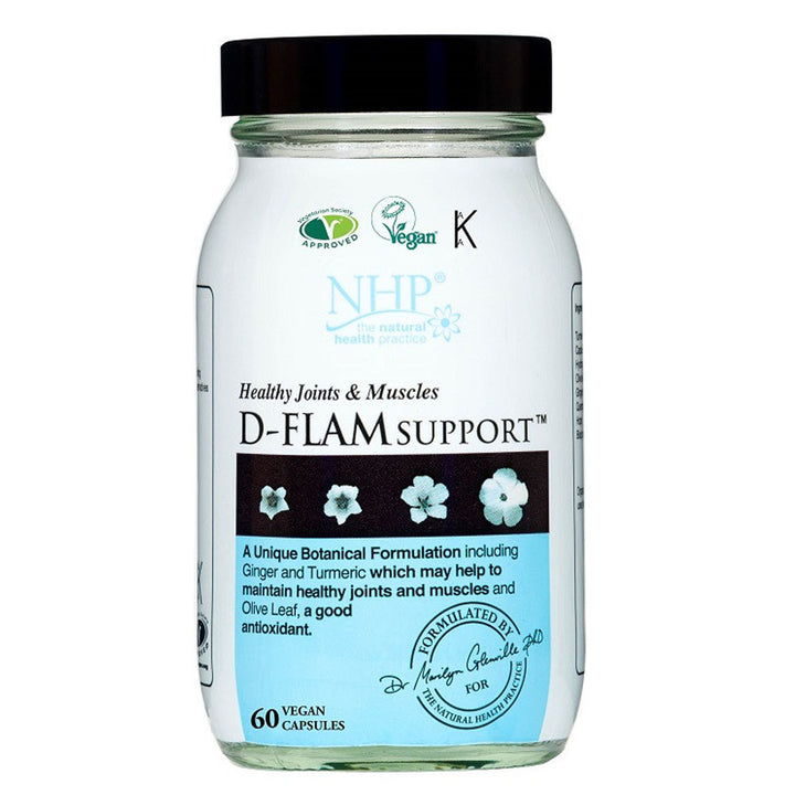 NHP D-Flam Support 60 Capsules
