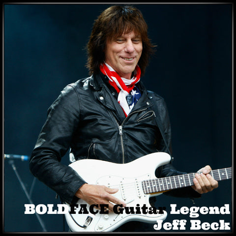 BOLDFACE Guitar Legend Jeff Beck
