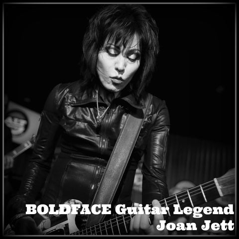 BOLDFACE Guitar Legend Joan Jett