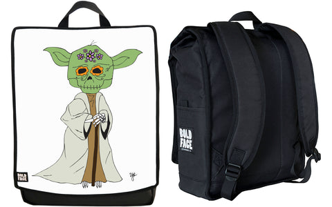 Yoda Day of the Dead Backpack