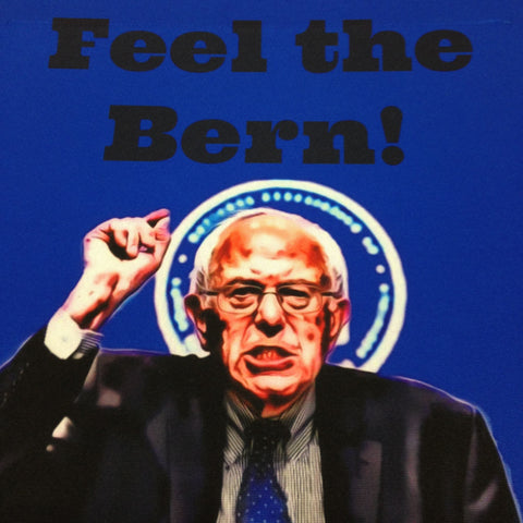 Feel the Bern! Actual Image