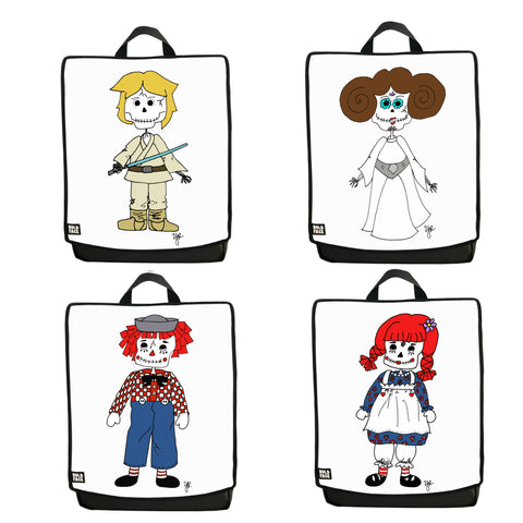 Day of the Dead Backpack 4-Pack