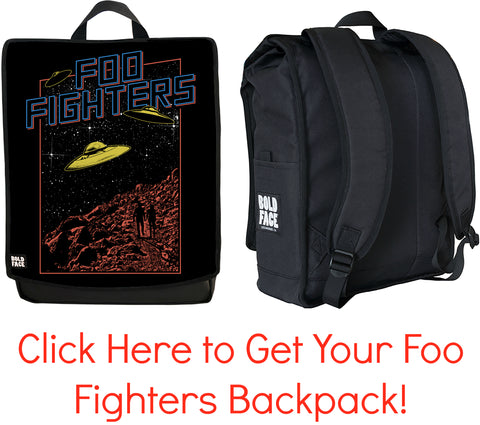 Foo Fighters Backpack Collection