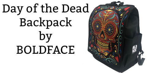 Day of the Dead Sugar Skull Backpack