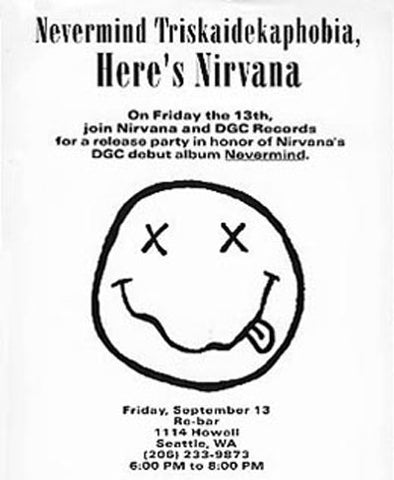 History of the Nirvana Smiley Face