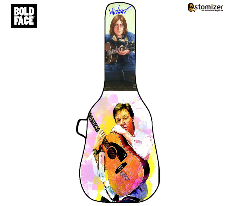 Create Your Own Customized Acoustic Guitar Bag