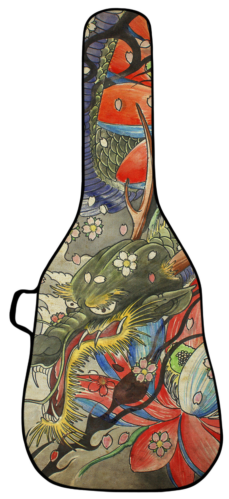 Dragon Tapestry Design Guitar Bag