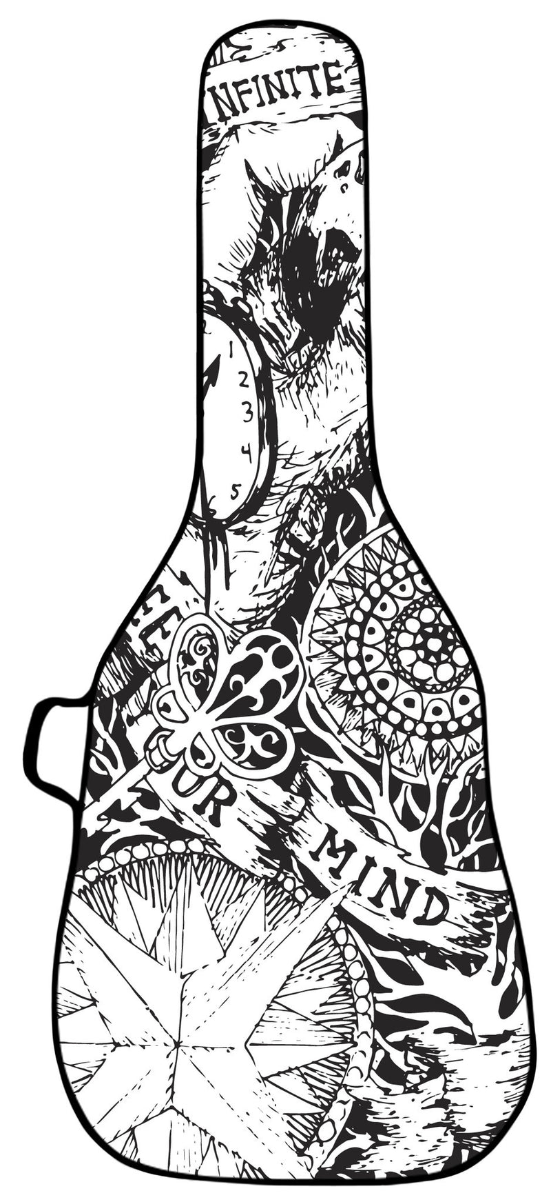Sketch Design Guitar Bag