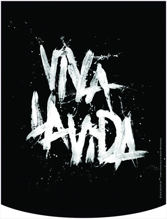 Coldplay Viva La Vida Backpack Face Panel
