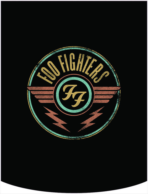 Foo Fighters Wings Logo Backpack Face Panel