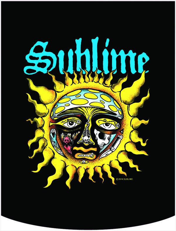 Sublime Sun Logo Backpack Face Panel