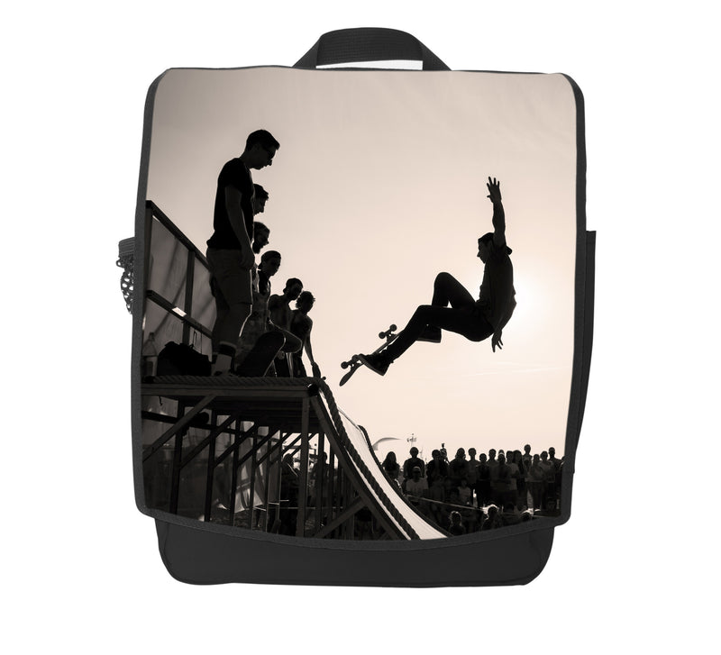 Skateboard Halfpipe Backpack