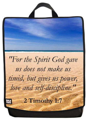 2 Timothy 1:7 Backpack
