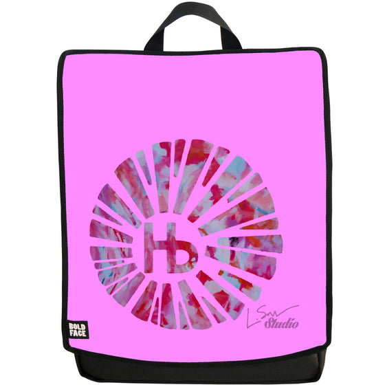 Hermosa Beach La Rambla (Pink) Backpack