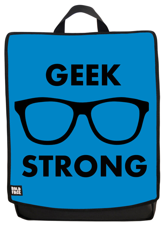 Geek Strong (Blue) Backpack
