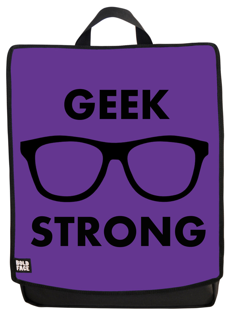 Geek Strong (Purple) Backpack